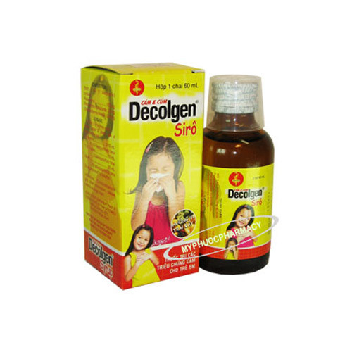 Siro Decolgen Chai 60ml