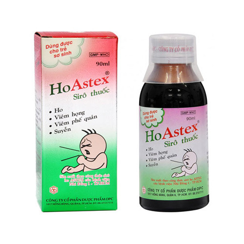 Siro ho Astex 90ml