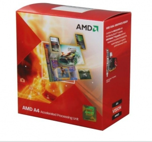AMD A4-3400 (2.7Ghz,1M L2 Cache, Socket FM1, Bus 2700MHz)