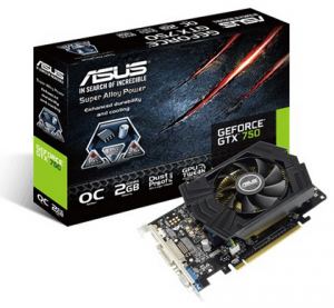 ASUS GTX750-PHOC-2GD5 (NVIDIA GeForce GTX 750, GDDR5 2GB, 128bits, PCI Express 3.0)