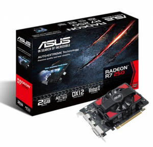 ASUS R7250-2GD5 (AMD Radeon R7 250, 2GB GDDR5, 128-bit, PCI Express 3.0)