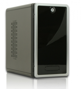 CybertronPC TSVSXR20 SwiftServ Home Server (Intel Pentium E2200 Dual-Core 2.20 GHz, RAM 2GB, HDD 2x750GB, Support for 0, 1, 5 or10)