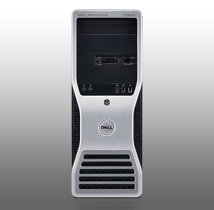 Dell Precision T5500 Tower Workstation E5607 (Intel Xeon E5607 2.26GHz, RAM 4GB, HDD 1TBGB, VGA NVIDIA Quadro 4000, Windows 7 Professional, Không kèm màn hình)