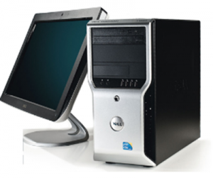Dell WorkStation Precision T1500 (Intel Core i5 750 2.66Ghz, Ram 4GB, HDD 250GB, VGA NVIDIA Gefore NS220 1GB, Không kèm màn hình)