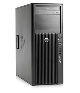 HP Z210 Workstation Windows (XM856AV) E3-1225 (Intel Xeon E3-1225 3.10GHz, RAM 4GB, HDD 250GB, VGA ATI FirePro V3800 512MB, Windows 7 Professional 64-bit, Không kèm màn hình)