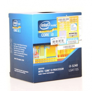 Intel Core i3-3240 (3.4GHz, 3MB L3 cache, Socket 1155)