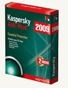 Kaspersky Anti-Virus 2009 - KAV 3pc/ 1 năm