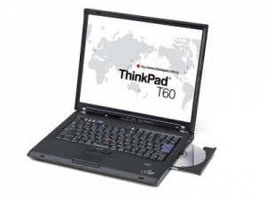 Lenovo Thinkpad T60 (1951-BV3) (Intel Core Duo T2300 1.66Ghz, 512MB RAM, 60GB HDD, VGA Intel GMA 950, 14.1 inch, PC DOS)