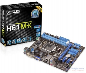 Mainboard ASUS H61M-K (Intel H61, Socket 1155)
