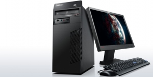 "Máy tính Desktop Lenovo ThinkCentre M72e (Intel Core i3 2120 3.0 GHz, Ram 2GB, HDD 500GB, VGA OnBoard, PC DOS, Lenovo D186 18.5"" Wide LCD_2580AB1)"