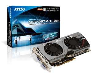 MSI N560GTX-Ti Hawk (GeForce GTX 560 Ti, GDDR5 1GB, 256bits, PCI-E 2.0)