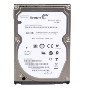 Seagate Momentus 500GB - 5400rpm - 8MB Cache - SATA 3.0Gb/s (ST9500325AS)