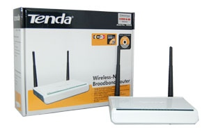 Tenda W306R Wireless -N Broadland Router 300M