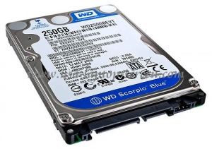 Western Digital 250GB - 5400rpm - 8MB Cache - SATA (WD2500BPVT)