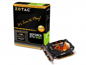 Zotac GeForce GTX 650 Ti [ZT-61101-10M] (Nvidia GeForce GTX 650 Ti, 1GB, 128-bit, GDDR5, PCI Express 3.0)