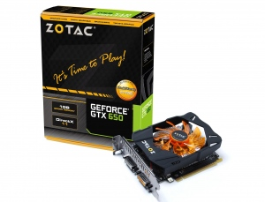 Zotac GeForce GTX 650 [ZT-61001-10M] (Nvidia GeForce GTX 650, 1GB, 128-bit, GDDR5, PCI Express 3.0)