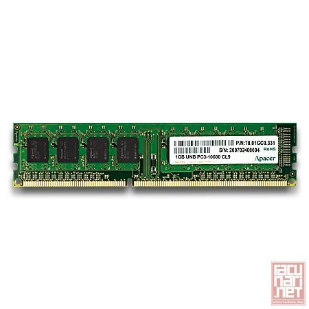 Apacer - DDR2 - 2GB - bus 800Mhz - PC2 6400