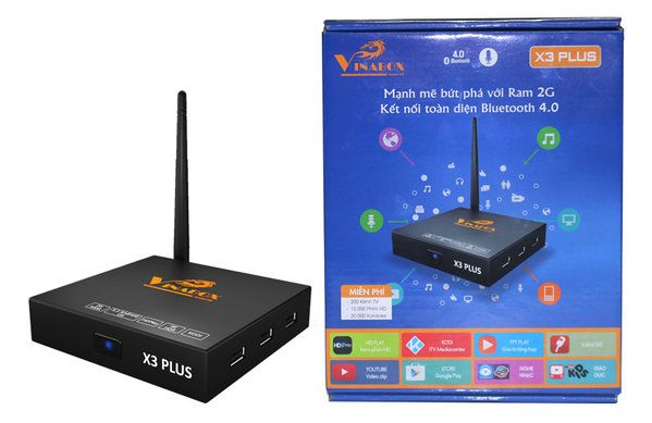 Android TV Box Vinabox X3 Plus