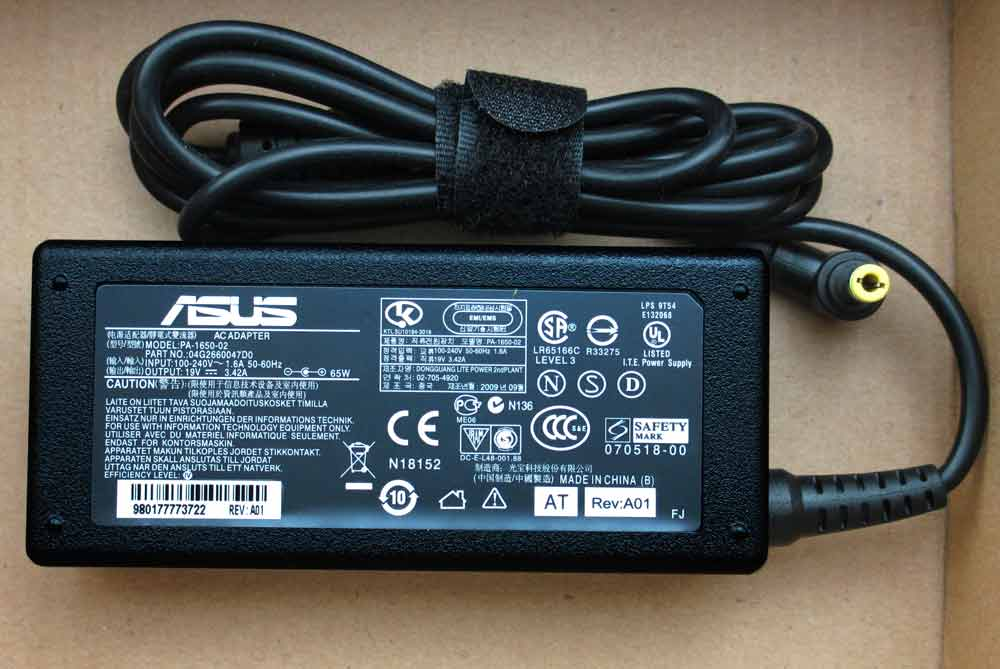 Adapter Zin Asus 19V - 3.42A