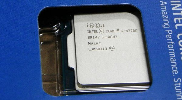 CPU Intel Core I7 4770K Tray