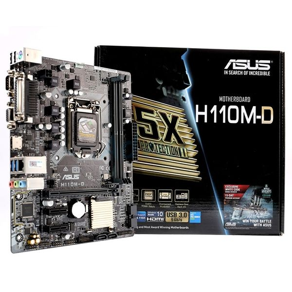 Mainboard Asus H110M-D (Chipset Intel H110, Socket 1151)