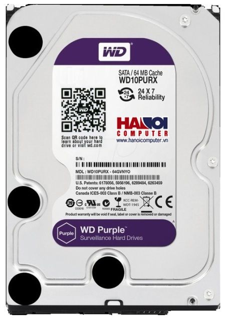 HDD Western Purple 2TB