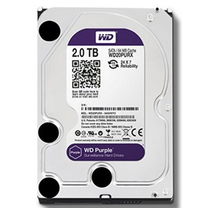 HDD Western Purple 2TB Sata 3 64Mb