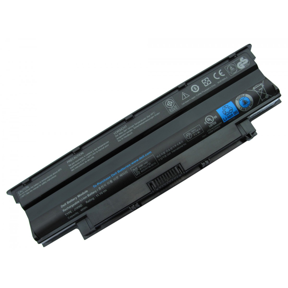Pin laptop Dell Vostro 1440 1450 1540 1550 2420 2520 3450 3550 3750 (6 Cells, 4400mAh)