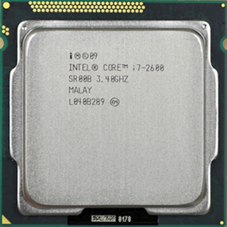 CPU Intel Core i7 2600 (3.4GHz, 8M L3 Cache, Socket 1155, 5.0 GT/s QPI)