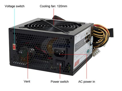 COOLER MASTER eXtreme Power (RP-650-PCAR) 650W (Cũ)