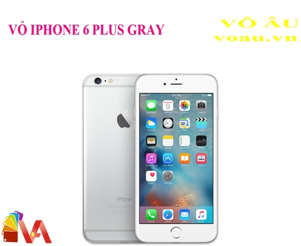 VỎ IPHONE 6 PLUS MÀU GRAY