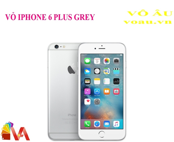 VỎ IPHONE 6 PLUS MÀU GREY
