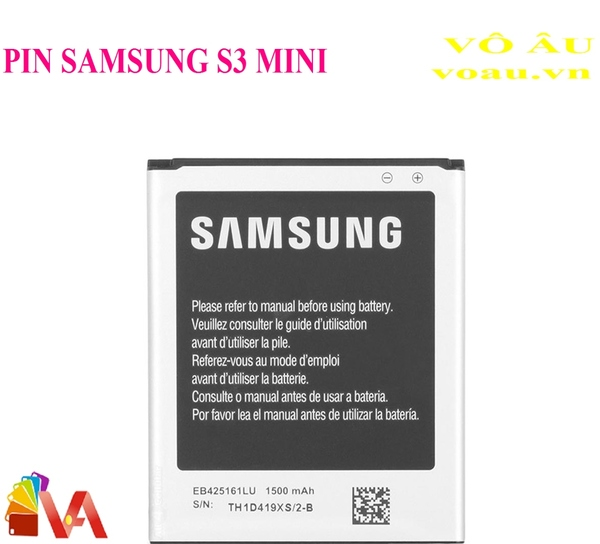 PIN SAMSUNG S3 MINI