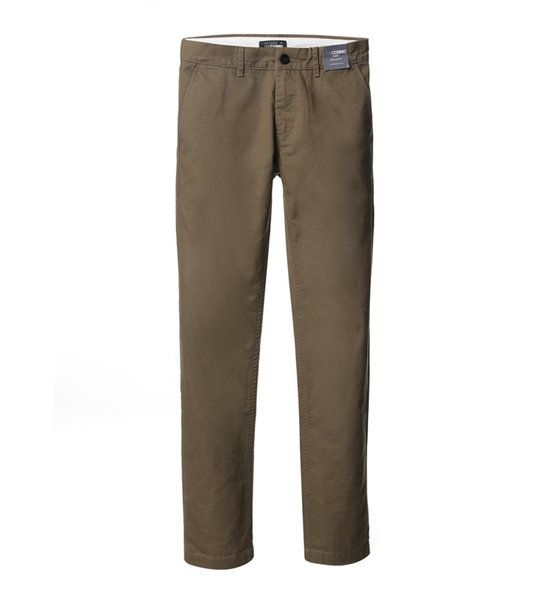 MEN REGULAR FIT CHINOS OL