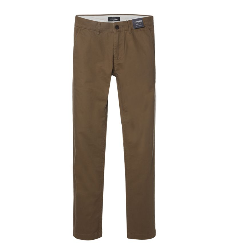 MEN REGULAR FIT CHINOS DB