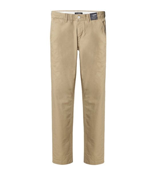 MEN REGULAR FIT CHINOS BE