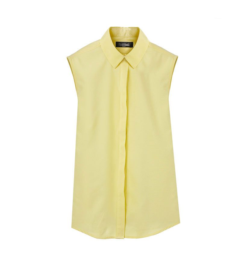 WOMEN SLEEVELESS BLOUSE YE