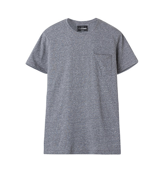 MEN POCKET T-SHIRT (GREY)