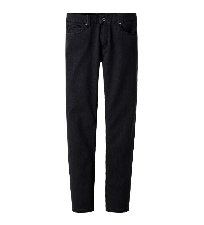 SLIM FIT JEANS (BLACK)