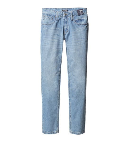 SLIM FIT JEANS (BLUE)