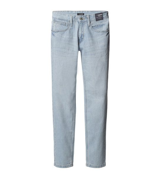 SLIM FIT JEANS (LIGHT BLUE)