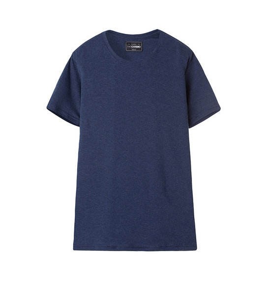 CREW NECK T-SHIRT (NAVY)