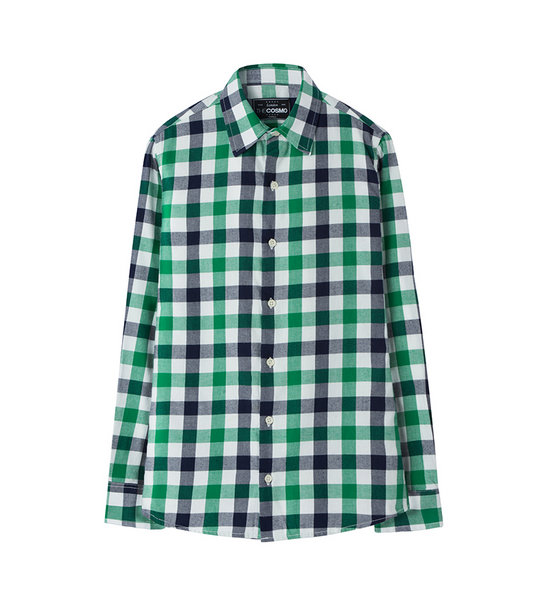 CHECKED SHIRT (GREEN)