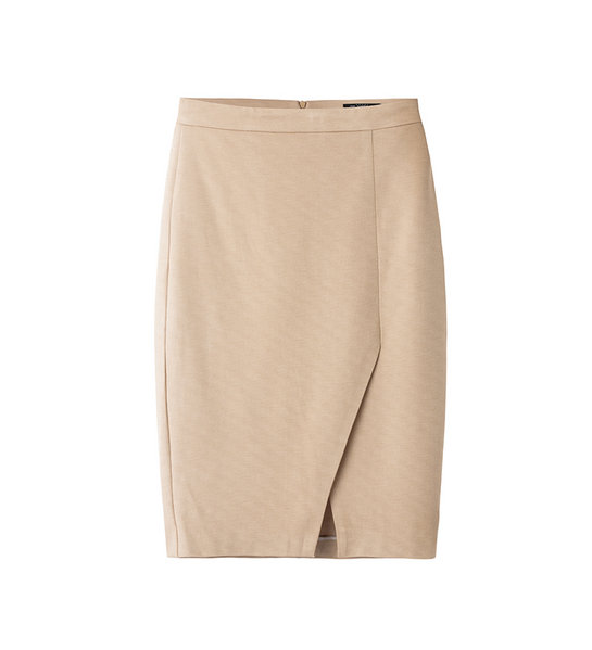 WRAP SKIRT (BEIGE)