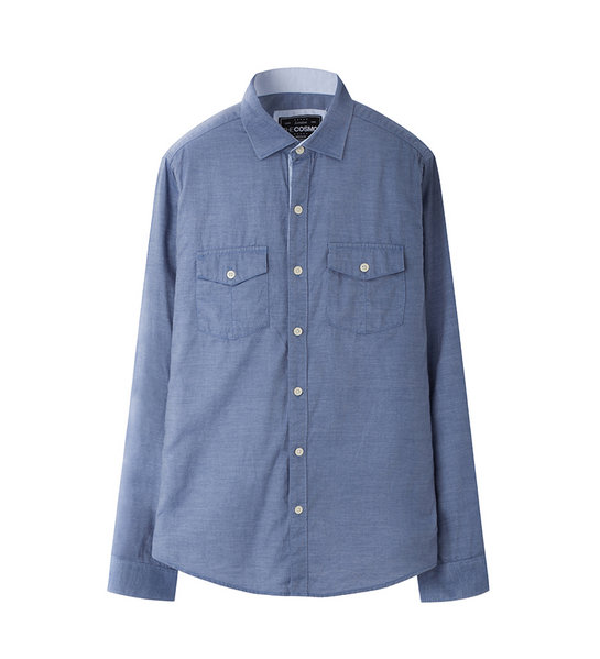 INDIGO OXFORD SHIRT (MID BLUE)