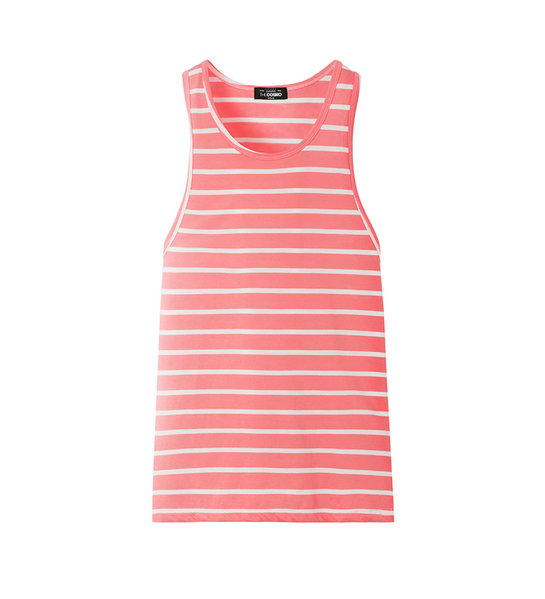 SLEEVELESS T-SHIRT (PINK)