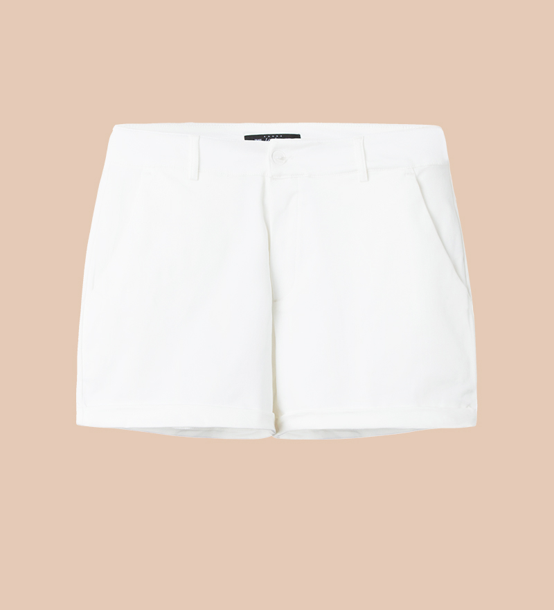COTTON SHORTS (WHITE)