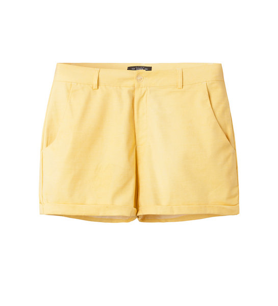 COTTON SHORTS (LEMON)
