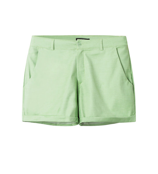 COTTON SHORTS (LIME)
