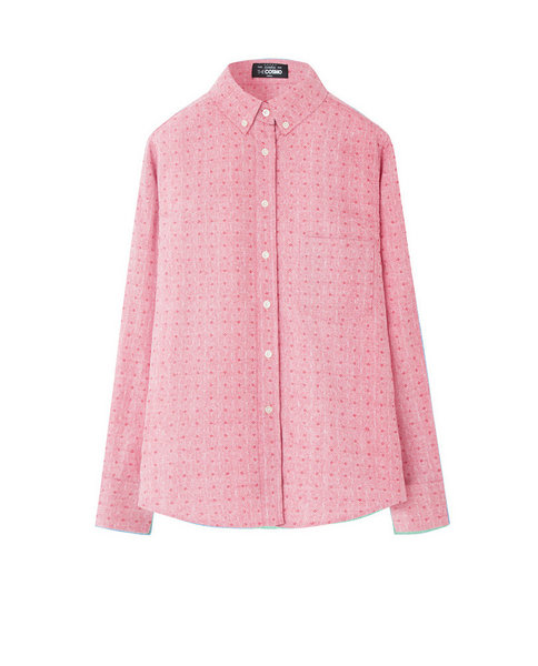 PRINTED OXFORD (ROSE)